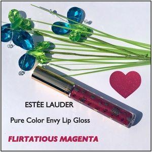 Estée Lauder Lip Gloss - Flirtatious Magenta NWTs